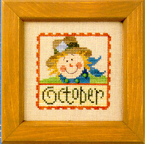 click here to view larger image of Flip-It Stamp October (chart)