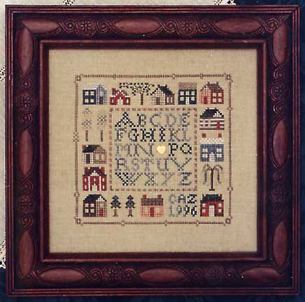 click here to view larger image of 12 Houses Sampler  (chart)