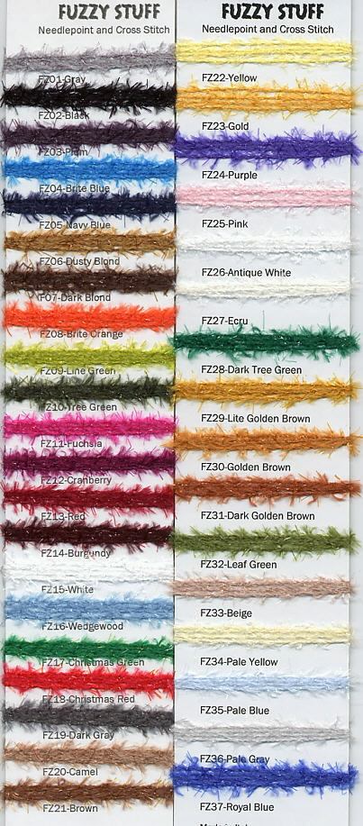 click here to view larger image of Rainbow Gallery - Fuzzy Stuff (fiber)