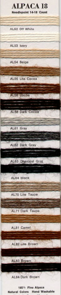 click here to view larger image of Rainbow Gallery - Alpaca 18 (fiber)