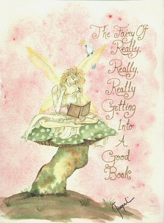 click here to view larger image of Fairy of a Book (chart)