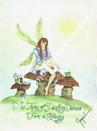 click here to view larger image of Fairy of Painting Fairies (chart)