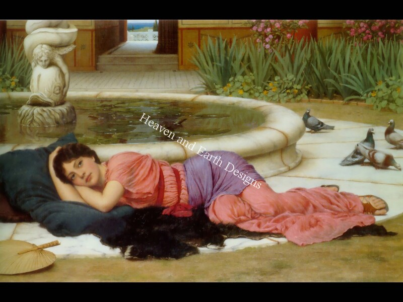 click here to view larger image of A Cool Retreat - Godward (chart)