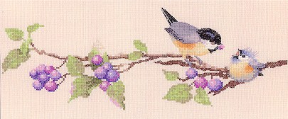 click here to view larger image of Berry Time - Harmony (counted cross stitch kit)
