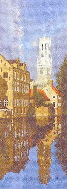 click here to view larger image of Bruges (counted cross stitch kit)