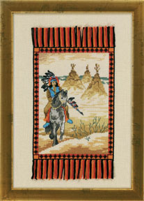 click here to view larger image of Chief (counted cross stitch kit)