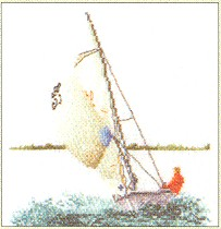 click here to view larger image of Sailing - Aida (counted cross stitch kit)