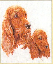 click here to view larger image of Spaniel - Aida (counted cross stitch kit)