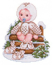 click here to view larger image of Snow Owl Baby (chart)
