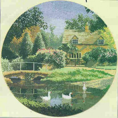 click here to view larger image of Ford Way  (counted cross stitch kit)