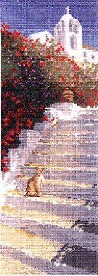 click here to view larger image of Greek Steps  (counted cross stitch kit)