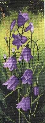 click here to view larger image of Harebell Panel  (counted cross stitch kit)