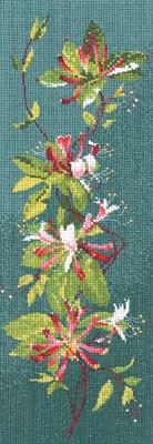 click here to view larger image of Honeysuckle Panel (counted cross stitch kit)