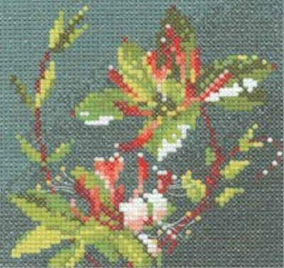 click here to view larger image of Mini Honeysuckle  (counted cross stitch kit)