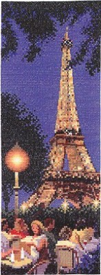 click here to view larger image of Paris - International (counted cross stitch kit)