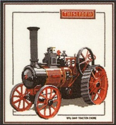 click here to view larger image of Thistledew - Traction Engines  (counted cross stitch kit)