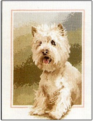 click here to view larger image of Westie - Dog Collection (chart)