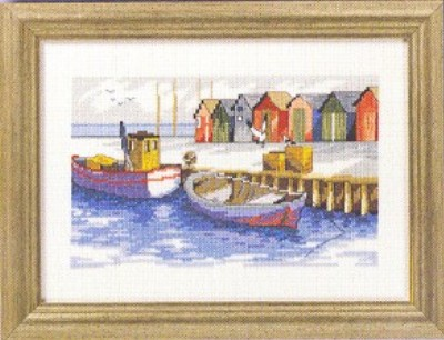 click here to view larger image of Pier (counted cross stitch kit)