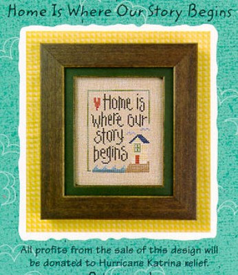 click here to view larger image of Home Is Where Our Story Begins (chart)