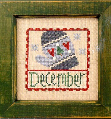 click here to view larger image of Flip-It Stamp December (chart)