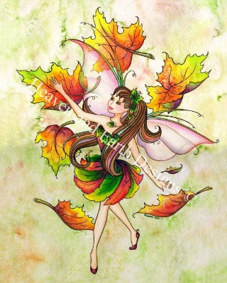 click here to view larger image of Leaf Fairy (chart)