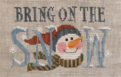 click here to view larger image of Bring on the Snow (Moon-lite Design) (chart)