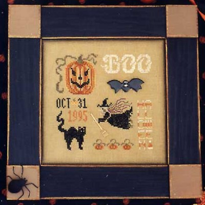 click here to view larger image of Halloween Spot Sampler (chart)