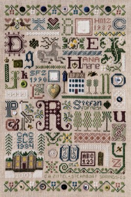 click here to view larger image of Souvenir Sampler (chart)