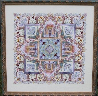 click here to view larger image of Taj Mahal Mandala Garden (chart)