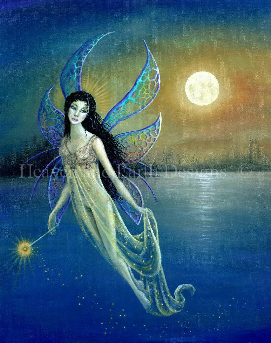 click here to view larger image of Blue Moon Fairy (chart)
