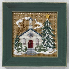 click here to view larger image of Country Church (2006) (counted cross stitch kit)
