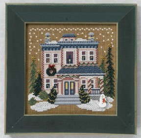 click here to view larger image of Victorian House (2006) (counted cross stitch kit)