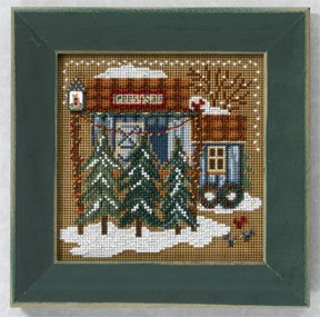 click here to view larger image of Tree Farm (2006) (counted cross stitch kit)