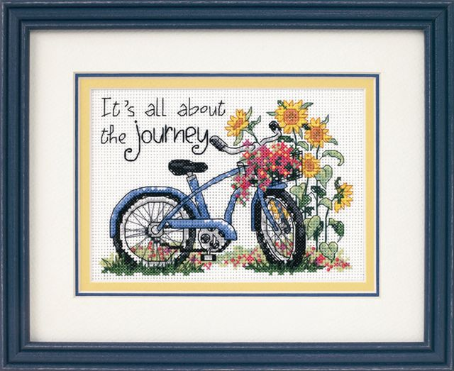click here to view larger image of Journey, The (counted cross stitch kit)