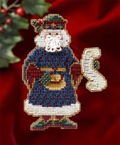 click here to view larger image of Canterbury Santa (button-bead kit)