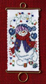 click here to view larger image of Joy Snowman (counted cross stitch kit)