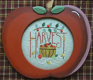 click here to view larger image of Apple Harvest (w/buttons) (chart with charms/buttons)