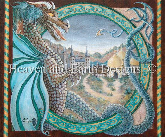 click here to view larger image of Celtic Dragon Lands (chart)