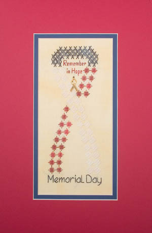 click here to view larger image of Holiday Highlights-Memorial Day (w/charm) (chart with charms/buttons)