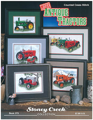 click here to view larger image of More Antique Tractors (chart)