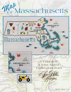 click here to view larger image of Massachusetts Map (chart)