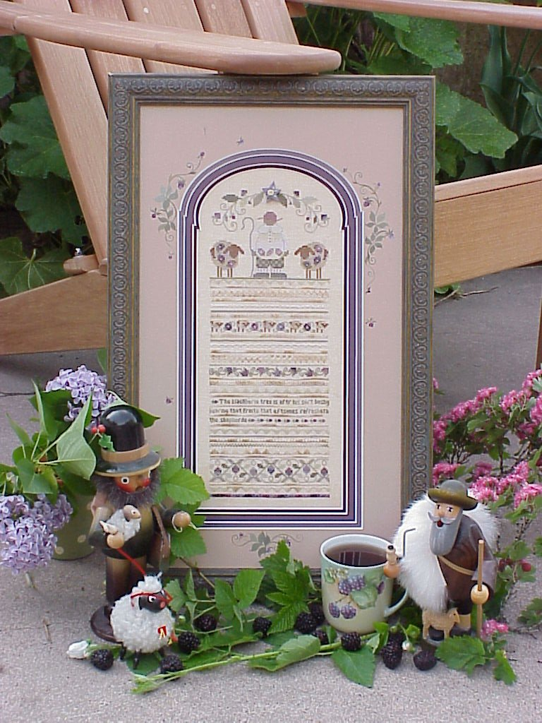 click here to view larger image of Blackberrie Sampler (counted cross stitch kit)
