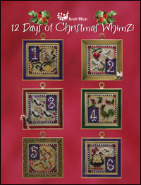 click here to view larger image of 12 Days of Christmas (chart)