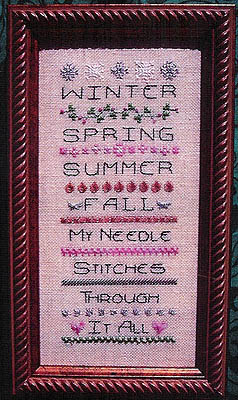 click here to view larger image of Seasons of My Needle (chart)