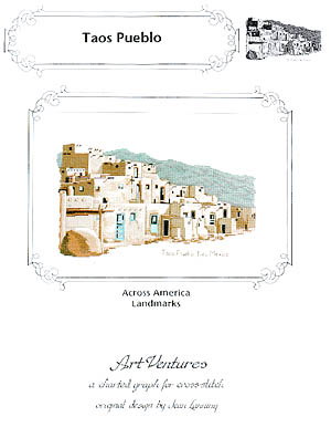 click here to view larger image of Taos Pueblo (chart)