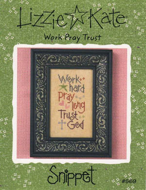 click here to view larger image of Work Pray Trust - Snippet (chart)