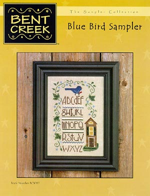 click here to view larger image of Blue Bird Sampler (chart)