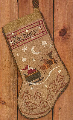 click here to view larger image of Christmas Eve Stocking (chart)