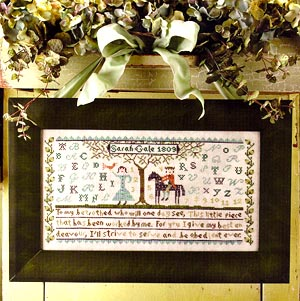 click here to view larger image of My Betrothed Sampler (chart)