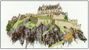 click here to view larger image of Edinburgh Castle (chart)